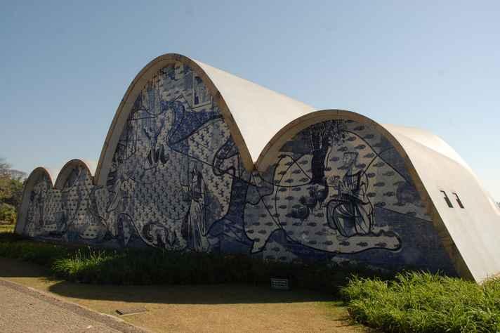 Estudantes vão visitar o complexo arquitetônico da Pampulha: visitas propiciam conhecimentos sobre cultura, história e arquitetura