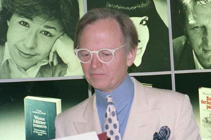 Tom Wolfe na Feira do Livro de Frankfurt em 1988.
