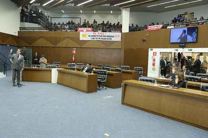 Reunião na Câmara de Belo Horizonte
