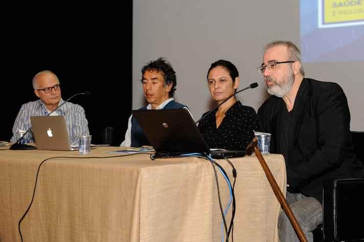 Tarcísio Mauro Vago, Antônio Teixeira, Claudia Mayorga e Orestes Diniz Neto