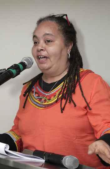 Ochy Curiel, da Universidad Nacional de Colombia, abordou o conceito de feminismo descolonial