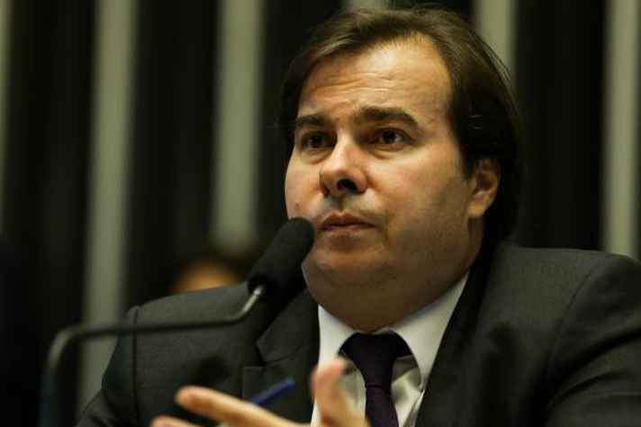 Candidatura de Rodrigo Maia (DEM) à presidência foi lançada nesta semana