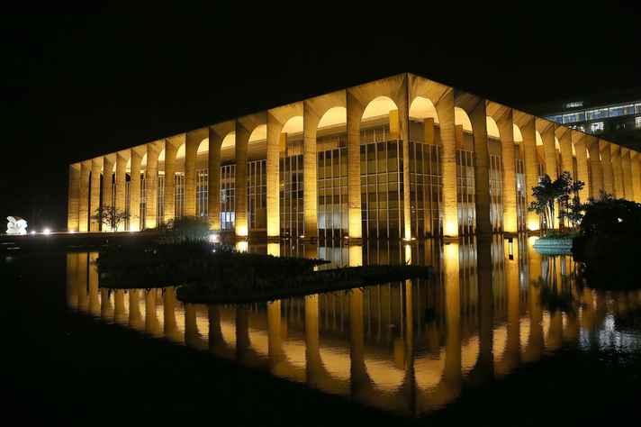 Palácio do Itamaraty, sede do Ministério das Relações Exteriores do Brasil