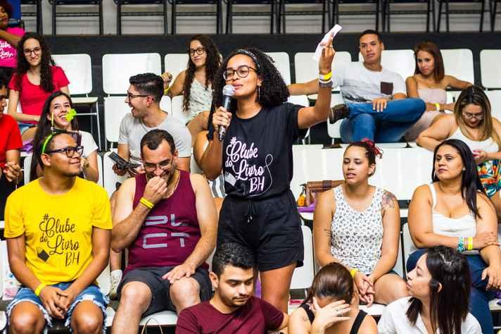 #ClubedoLivroBH já reuniu mais de 6 mil pessoas