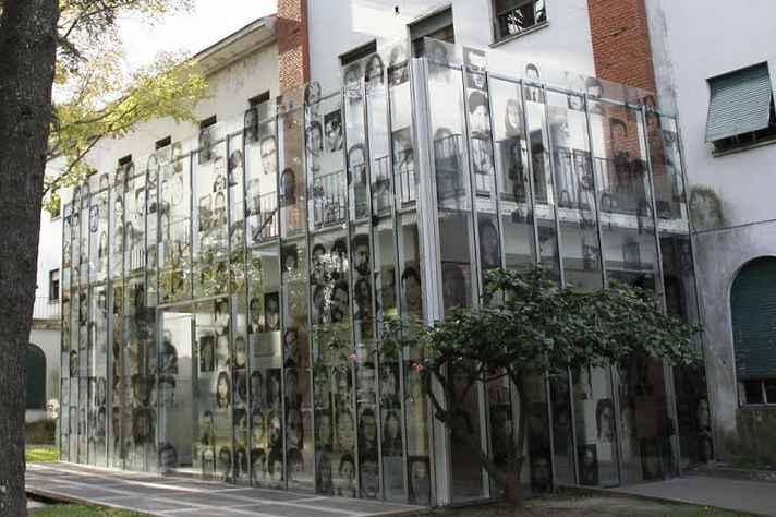 O Museo Sitio de Memoria ESMA, na Argentina, é um centro de detenção, tortura e extermínio que foi transformado em um museu
