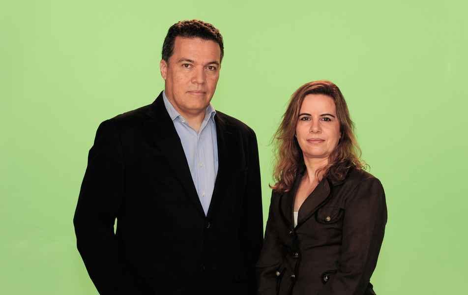 Reitor Jaime Arturo Ramírez e Vice-reitora Sandra Regina Goulart Almeida