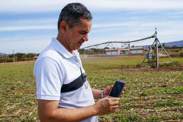 Flávio Oliveira desenvolveu o aplicativo: tecnologia de fácil usabilidade