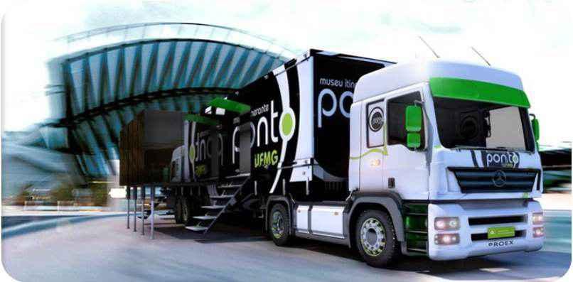 'Museu sobre rodas' da UFMG