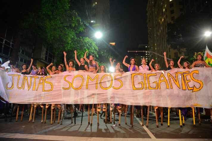 Marcha Mundial das Mulheres 2017, no Rio de Janeiro