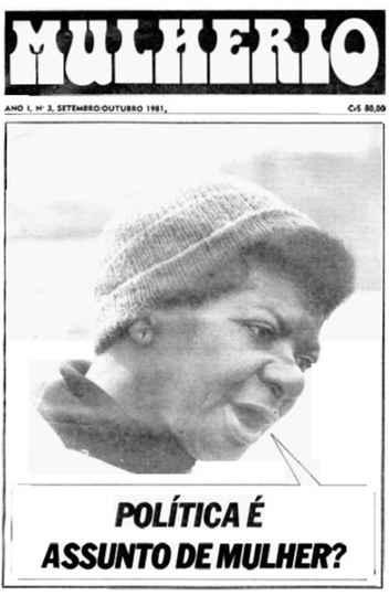 Capa de jornal que circulou nos anos 1980
