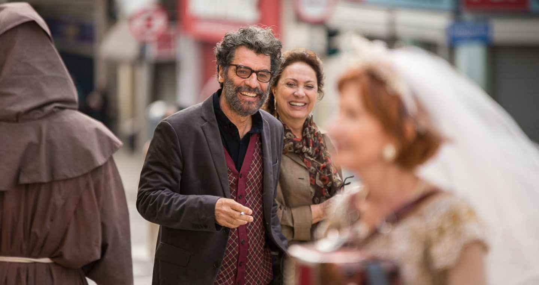 Paulo Betti e Eliane Giardini, diretores de 'A fera na selva'