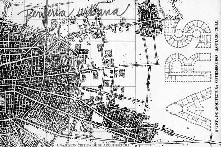 Mapa periferia urbana