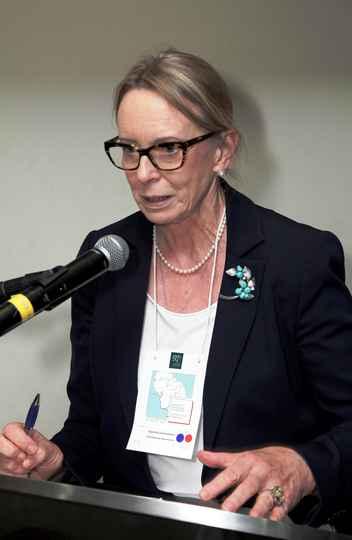 Inguelore Scheunemann, professora da Ufpel, defendeu a redução do desperdício