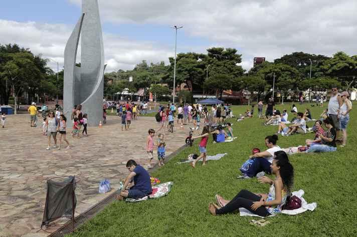 Atividades atraíram centenas de pessoas ao campus Pampulha