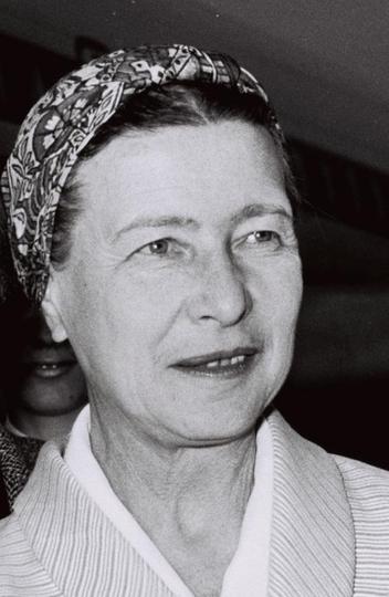 Simone de Beauvoir em 1967