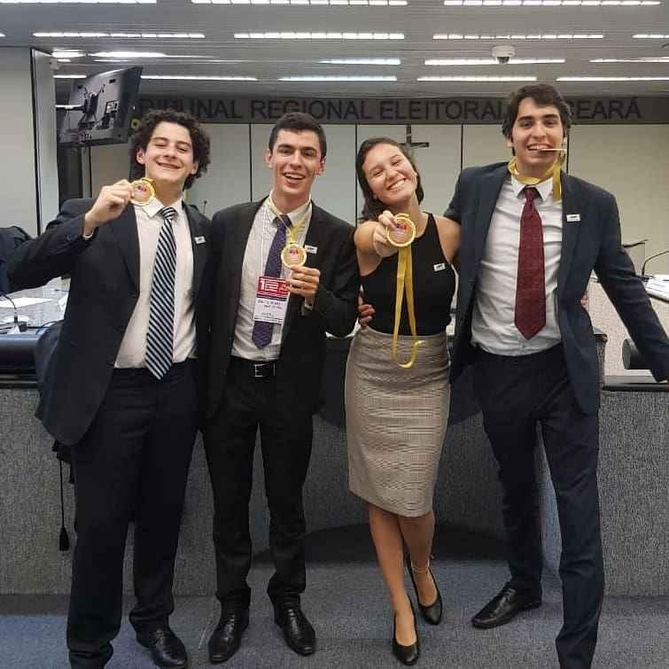 Henrique Quirino, André Almeida Gonçalves, Paloma Rocillo e Henrique Bazan