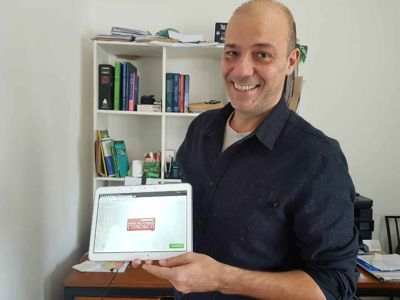 O pesquisador Fernando Colugnati também desenvolveu estudos com o auxílio da Fapemig, entre eles, um projeto sobre tabagismo