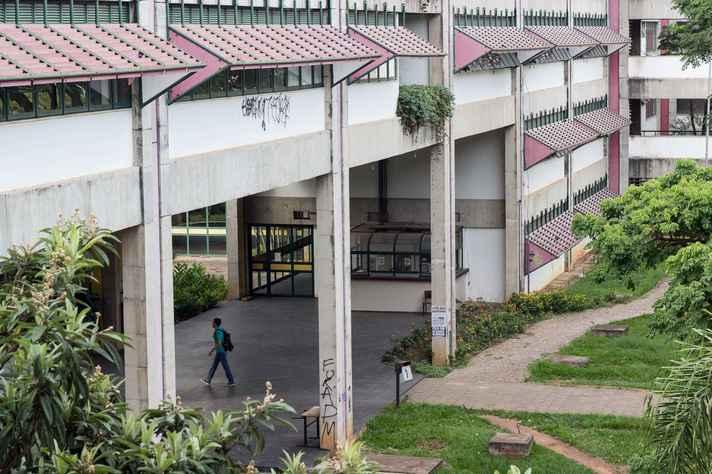 Prédio da Fafich, sede do Programa de Pós-Graduação em Sociologia da UFMG