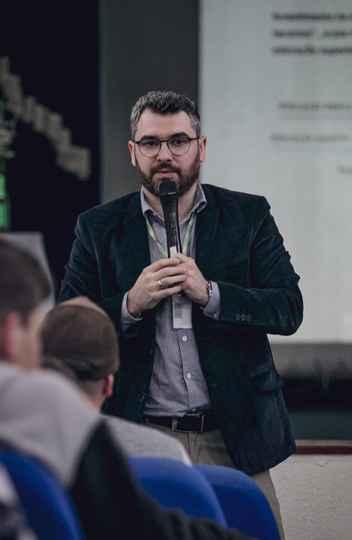 Gregório Durlo Grisa, também professor do Instituto Federal do Rio Grande do Sul (IFRS)