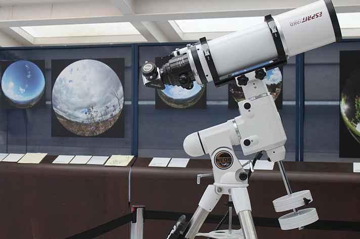 Equipamento diminui as distorções durante as observações de corpos celestes