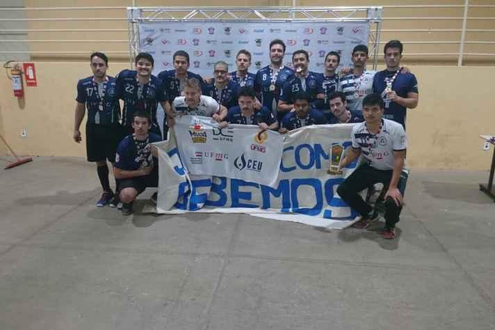 Equipe de handebol masculino também conquistou a medalha de ouro