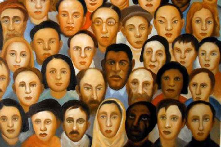 """""""Operários"""", obra de Tarsila do Amaral (1933)"""