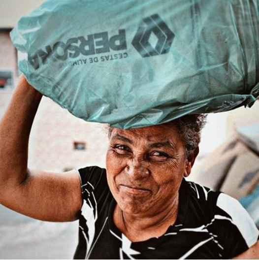 O projeto Espalhe Cestas atendeu mais de 31 mil pessoas.