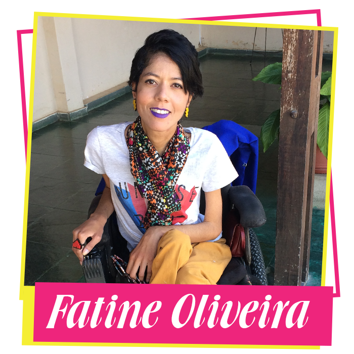 Fatine Oliveira é publicitária, autora do Disbuga e colunista do Mídia Ninja