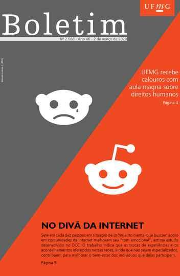 Capa da edição 2088 (Arte: Marcelo Lustosa / UFMG)