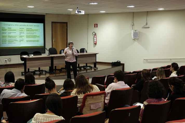 Marisa Duarte discorreu sobre a relevância do Enade e a repercussão dos seus resultados