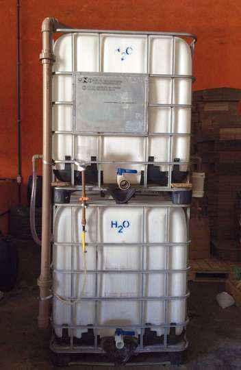 Equipamento pode purificar 1 mil litros de água por hora