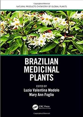 Capa do livro Brazilian Medicinal Plants