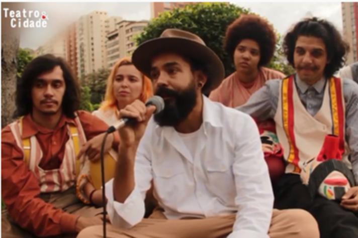 Trecho do vídeo Teatro&Cidade - Uma trilogia pela cidade, de João Gabriel Walter Molento, um dos premiados em 2019 (reprodução YouTube)