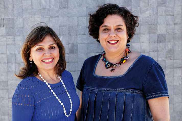 Andréa Mara Macedo e Paula Miranda-Ribeiro