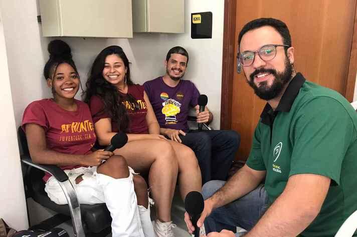 Luísa Data, Carol Diaz e Renato XXXX conversaram sobre DCE, DA's, CA's e representatividade estudantil em geral