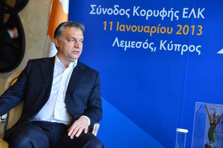 Viktor Orbán, primeiro-ministro da Hungria desde 2010