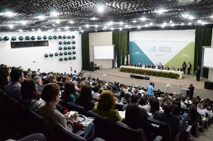 Audiência pública sobre a BNCC: base foi aprovada em 2017
