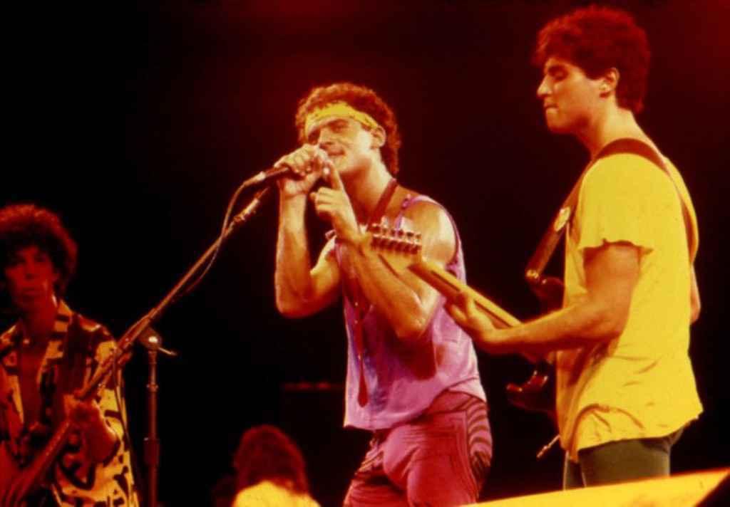Barão Vermelho no Rock in Rio de 1985.