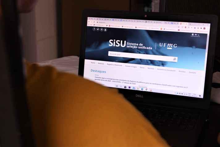 Todos os calouros classificados pelo Sisu devem efetuar seu registro pela internet