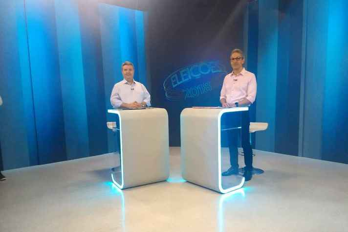 Antônio Anastasia (PSDB) e Romeu Zema (Novo)