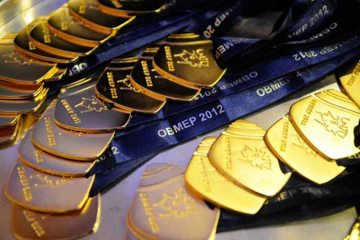 Medalhas da Obmep, em 2012