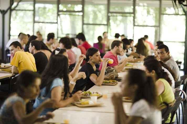 Restaurante Setorial 2, no campus Pampulha