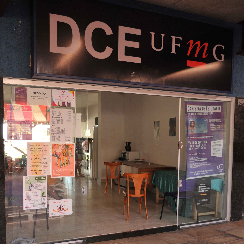 Sede do DCE, na praça de serviços da UFMG