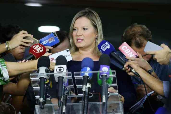 A deputada Joice Hasselmann (PSL-SP) surfou na crise de representatividade e depois perdeu força