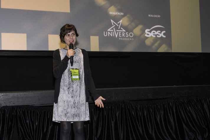 Clarisse Alvarenga: curadora da temática educação na CineOP