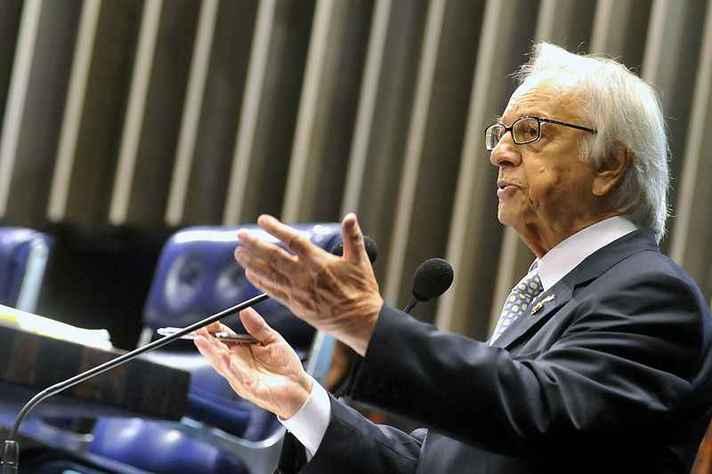 Itamar Franco (1930-2011), assumiu a presidência com a queda de Fernando Collor