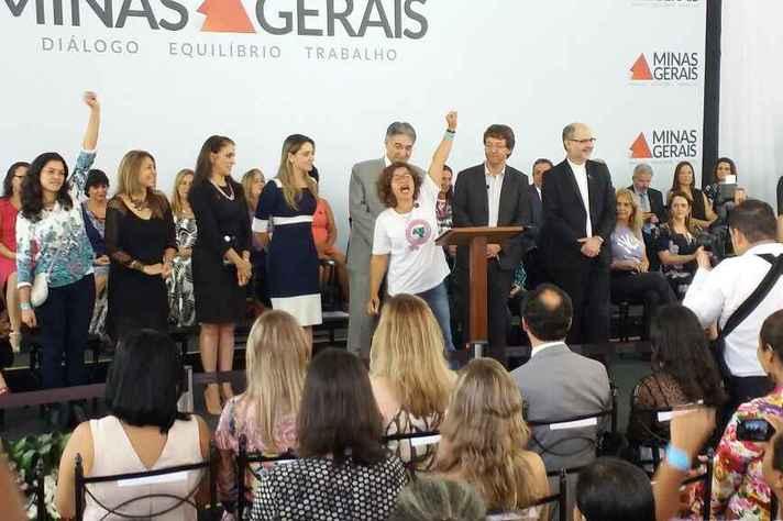 Ações foram anunciadas pelo governador Fernando Pimentel no Dia da Mulher