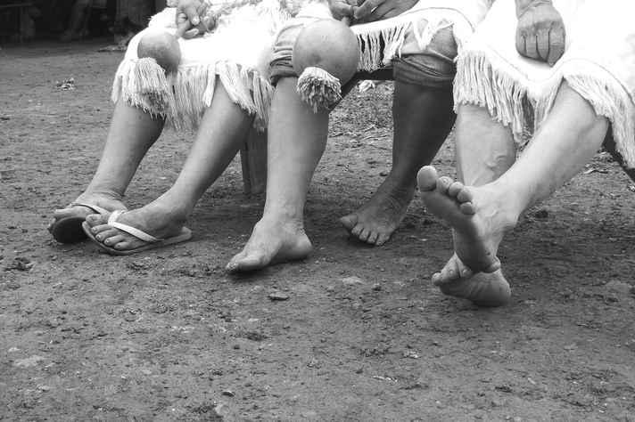 Registro do projeto Imagem Canto Palavra no Território Guarani e Kaiowa, que teve uma de suas etapas apoiadas na chamada lançada em 2016