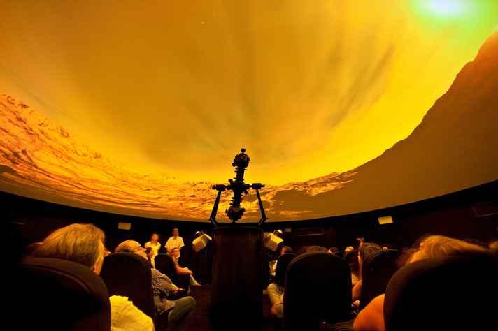 A programação da Virada inclui atividades no Planetário
