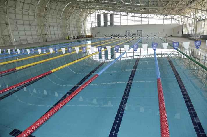 Piscina olímpica do parque aquático do CTE terá aquecimento por microturbinas a gás